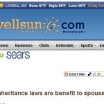 Change In Massachusetts' Probate Law Benefits Spouses.