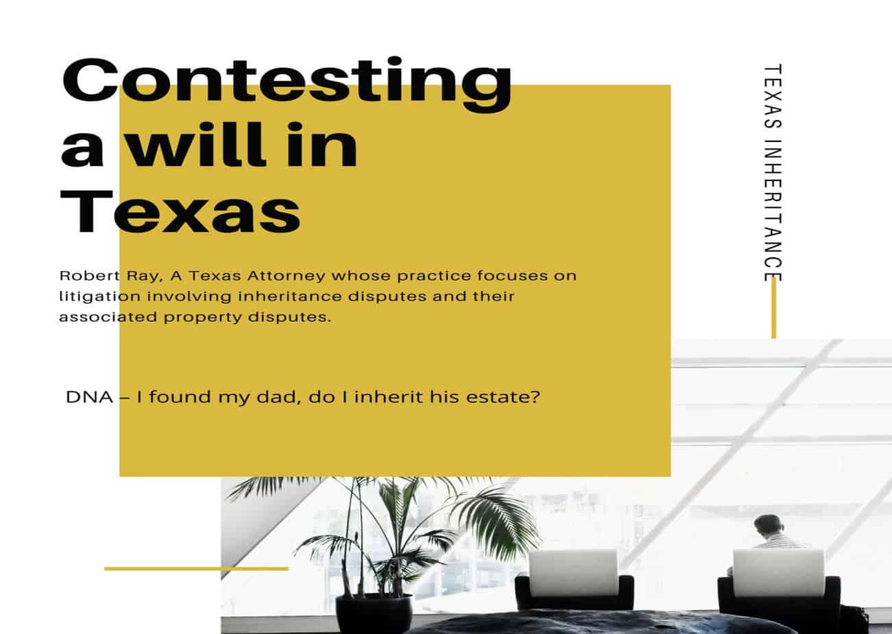 DNA – I found my dad, do I inherit his estate?